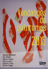vendanges printemps 2015